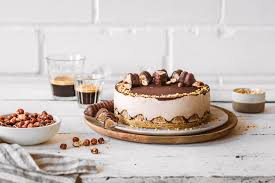 haselnuss cheesecake ohne backen