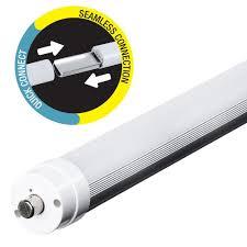 feit electric 44 watt 8 ft t8 t12 cool white linear led light