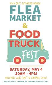 100 Food Truck Mn Flea Market Fest Holy Cross Lutheran Church