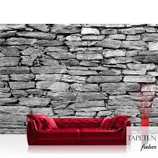 vlies fototapete no 172 steinwand tapete steinwand steinoptik steine wand mauer steintapete grau