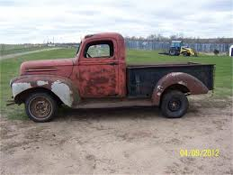 1942 Ford 1/2 Ton Pickup For Sale | ClassicCars.com | CC-500295 1963 Ford 1 Ton Flatbed For Sale Classiccarscom Cc839028 Used 2009 Gmc 2500 4wd Ton Pickup Truck For Sale In New Jersey 1927 Chevy Trucks Pinterest Antique Trucks And Cars Cab Over Engine Coe Scrapbook Page 2 Jim Carter Truck Parts For 5ton Gripelectic Tcm Isuzu 3 Sale The Trinidad Car Sales Catalogue Ta Steve Mcqueen Used To Drive This 1952 Chevrolet Custom Pickup 1973 F350 Dump Truck 1ton Grain Bed Disc Pb Ps Chevrolet 2wd 12110 Frozen Food Delivery Suppliers 1990 40k Original Miles 454 No Reserve Sell