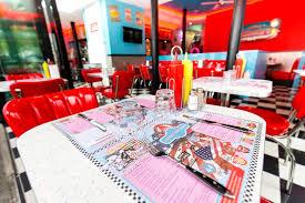 deco americaine annee 50 restaurant centre ville nantes ées 50 café diner