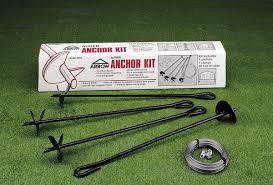 Arrow Storage Sheds Menards by Arrow Auger Anchor Kit For Arrow Sheds Walmart Com