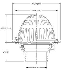 watts rd 200 roof drain specifications accessories