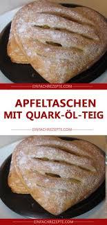 apfeltaschen mit quark öl teig
