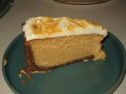 Pumpkin Cheesecake Gingersnap Crust Bon Appetit by Pumpkin Cheesecake With Caramel Swirl Tastydesu Where