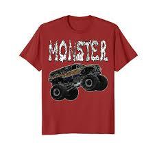 100 Monster Trucks Mud Bogging Truck Big Jump And Crush Cars Racing TShirt TeleOut
