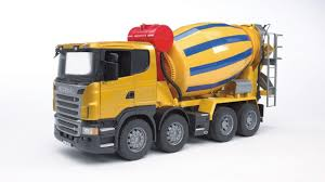 BR 1:16 Scania R-Series Cement Mixer Truck 240 03554 - Bruder Toys