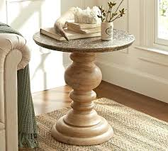 Unfinished Pedestal Table Coffee Table Round Pedestal Coffee Table