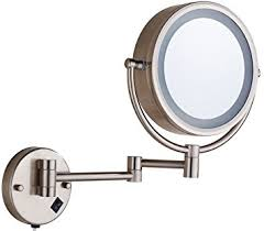 cavoli makeup mirror with led lighted wall mounted
