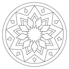 Free Download Color Mandalas Online On Food Coloring Page Mandala Pages 12