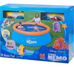 Finding Nemo Bath Set by Buy Disney Finding Nemo 3d Paddling Pool 7ft At Argos Co Uk