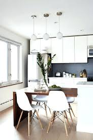 Best 25 Kitchen Island Dining Table Ideas On Pinterest 15 Awesome Simple Small And Design Modern White Sets