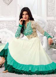 Stylish Embroidered Pakistani Frocks 2015