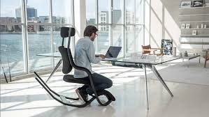 Ergonomic Kneeling Office Chair With Back by Accent Chair Hag Balans How To Make A Kneeling Chair Ergonomic