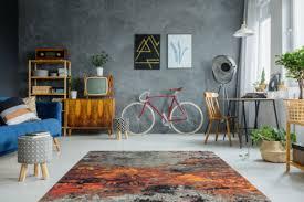 arte espina teppich modern farb splash feuer teppiche