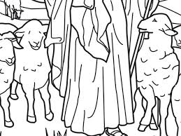 29 Good Shepherd Coloring Page 45 Bible Story Pages