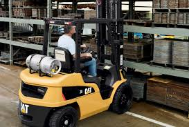 Gas Powered Forklift Trucks | Materials Handling | Cat Lift Trucks