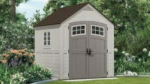322 cu ft cascade 7 x 7 storage shed suncast corporation