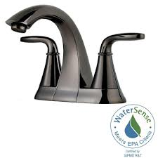Bathtub Splash Guards Home Depot by Pfister Pasadena 4 In Centerset 2 Handle High Arc Bathroom Faucet