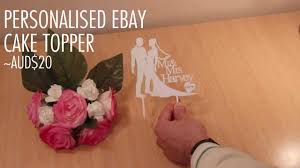 Personalized Ebay Wedding Cake Topper Review
