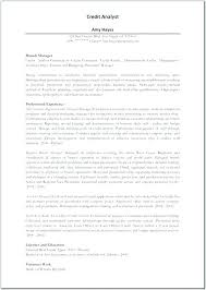 Financial Analyst Resume Examples Policy Sample Also Credit Manager 7 Best Good Template Lyst Sam