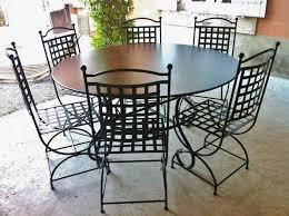 chaise en fer forgé robion mobilier en fer forgé aix montpellier