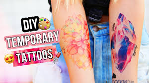 DIY TEMPORARY TATTOOS TESTED