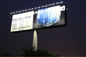 bright ce led solar wall washer billboard lighting outdoor