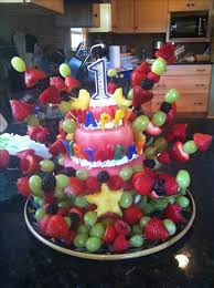 Cakes Decorated With Fruit by Best 25 Fruit Birthday Cake Ideas On Pinterest Fruit Kebabs