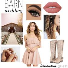 Barn Wedding Attire For Guests Beautiful Guest Polyvore