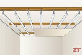 pose rail placo plafond brico les é pour refaire une cuisine de a à z partie 3