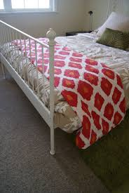 leirvik bed frame house pour how to build a guest room in one day for minimal dollars