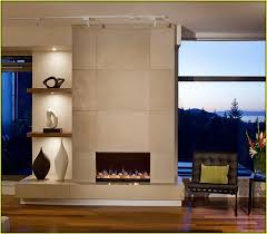 contemporary fireplace tile ideas
