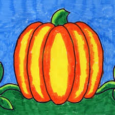 Pumpkin Drawing Kinder 2nd Grade