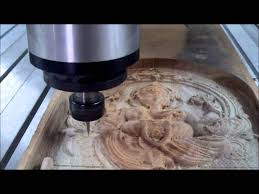 Cnc Wood Router Machine Manufacturer In India by High Speed Cnc Wood Carving Of Lord Ganesh Youtube