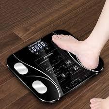 neue touch taste badezimmer waage lcd smart körper balance