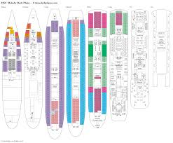 Azamara Journey Deck Plan 2017 by Msc Melody Deck Plans Diagrams Pictures Video