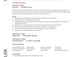 Culinary Resume Samples Chef Sample Examples Sous Jobs Free Arts