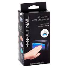 sensationail pro 3060 led l gel polish dryer walmart com