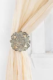 Antler Curtain Tie Backs by Unique Drapery Tiebacks Driven By Decor