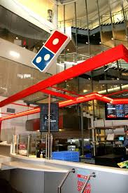 The Newly Re Imagined And Fully Functioning Pizza Store Inside Dominos
