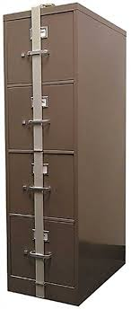 Amazon HPC SLB 44 Security Locking File Cabinet Bar 4 Drawer