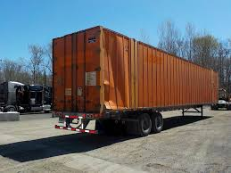 100 Stoughton Trucking 2006 53x102 Container Trailer Spring For Sale Green