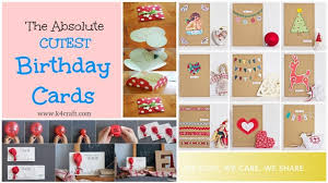 15 Easy Handmade Birthday Gift Cards Step By