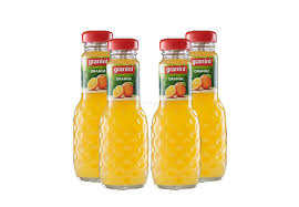 granini orange saft 4er set granini trinkgenuss 4x orange 0 2l saft inkl pfand mehrweg