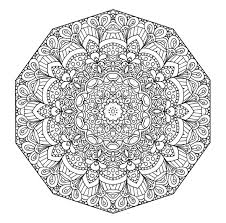 Difficult Mandala Coloring Pages 2 Printable Hard Inside