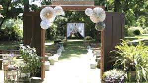 43 Best Outdoor Wedding Entrance Ideas Pink Lover Image Source Elegant