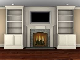 Living Room With Fireplace And Bookshelves by Wall Units 2017 Cost Of Built In Bookshelves Catalog Average Cost