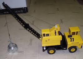 TONKA 1970'S MIGHTY Crane Truck Clamshell Pressed Metal Steel